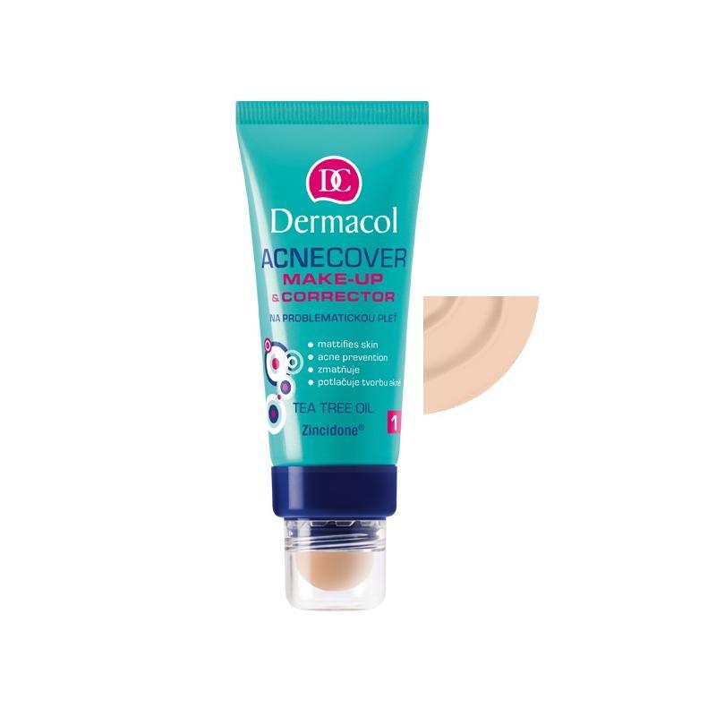 Acnecover Make-Up & Corrector podkład z korektorem do skóry trądzikowej 01 30ml