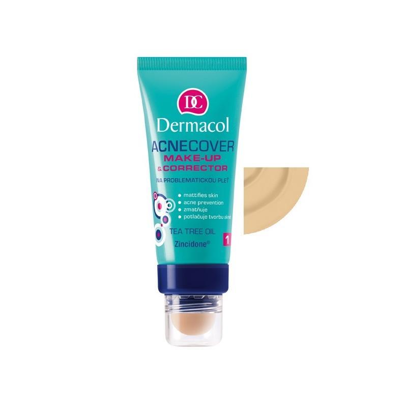 Acnecover Make-Up & Corrector podkład z korektorem do skóry trądzikowej 02 30ml