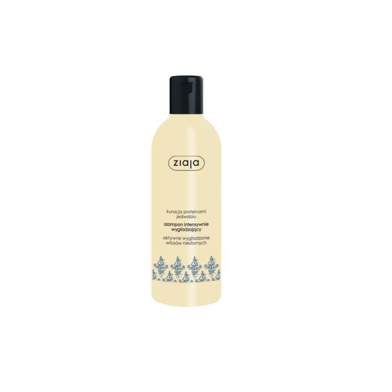 Kuracja Proteinami Jedwabiu szampon intensywnie wygładzający do włosów niesfornych 300ml