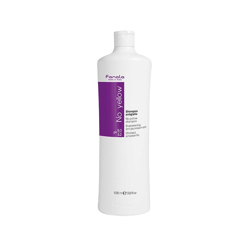 No Yellow Shampoo szampon chłodzący i niwelujący żółty odcień 1000ml