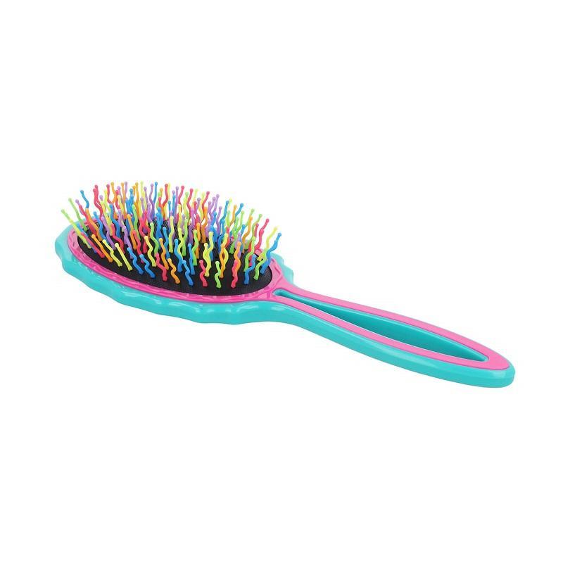 Big Handy Hair Brush duża szczotka do włosów Turquoise-Pink