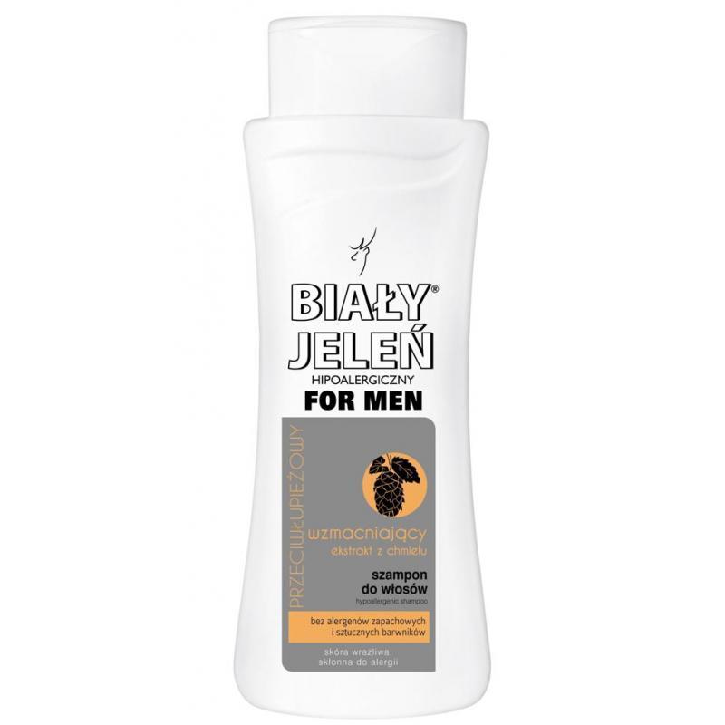 For Men hipoalergiczny przeciwłupieżowy szampon do włosów z ekstraktem z chmielu 300ml