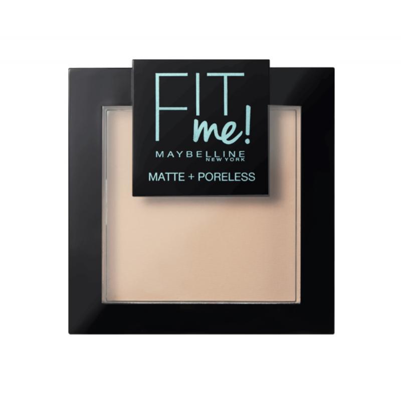 Fit Me Matte Poreless Pressed Powder puder matujący do twarzy w kompakcie 105 Natural Ivory 9g
