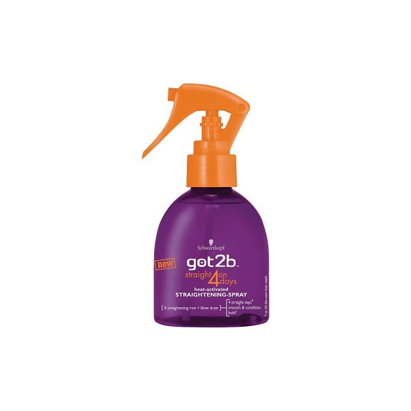 Straight on 4 Days Spray prostujący lakier do włosów 200ml