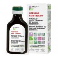 Intensive Hair Therapy Natural Burdock Oil naturalny olejek łopianowy do włosów przeciw wypadaniu z aktywatorem wzrostu 100ml