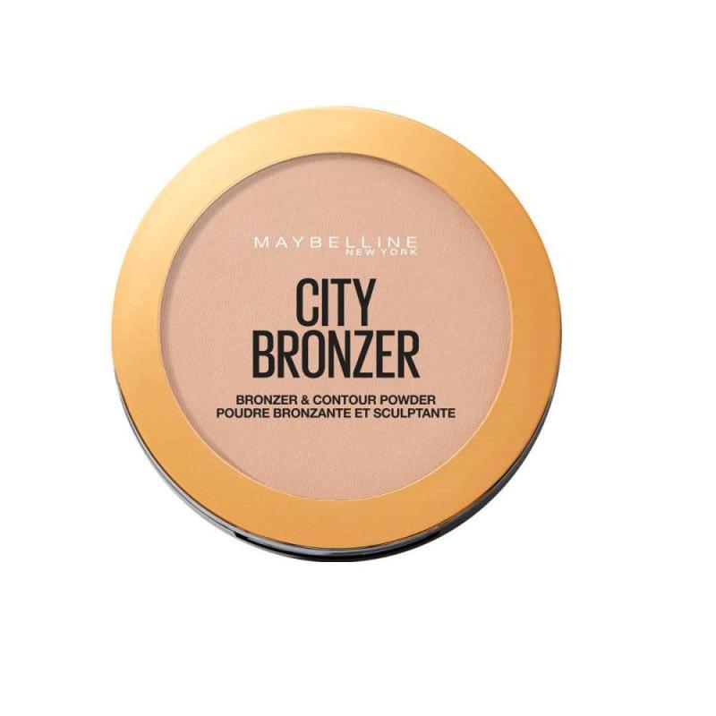 City Bronzer puder brązujący do twarzy 250 Medium Warm 8g
