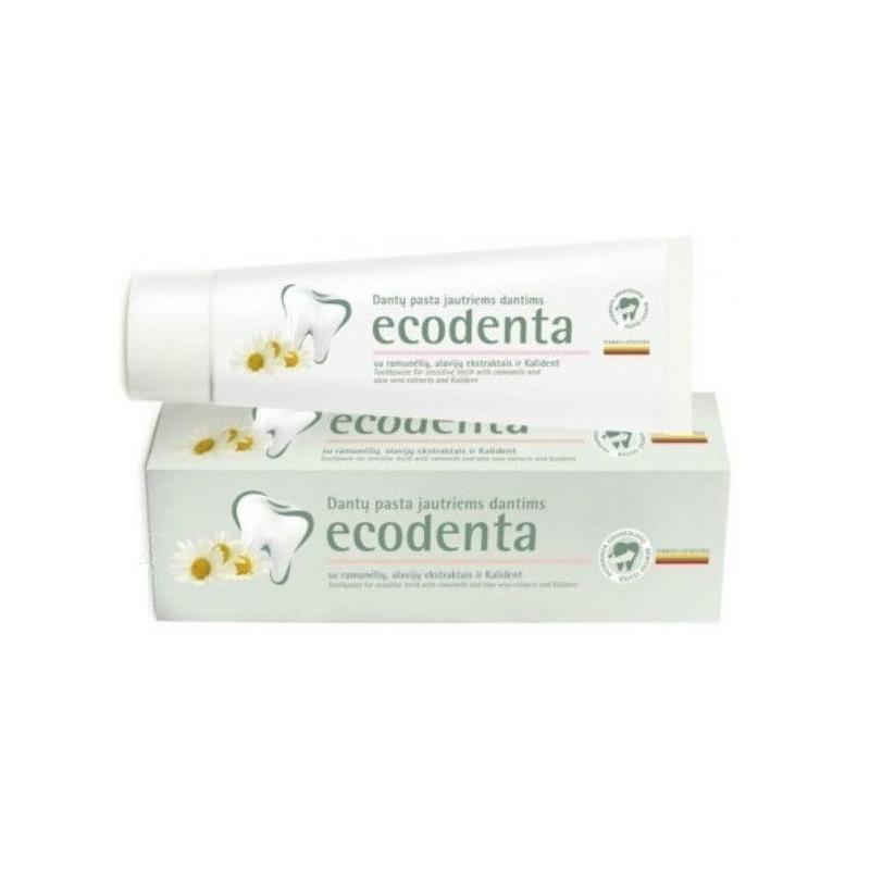 Toothpaste For Sensitive Teeth pasta do wrażliwych zębów z rumiankiem i goździkiem 100ml