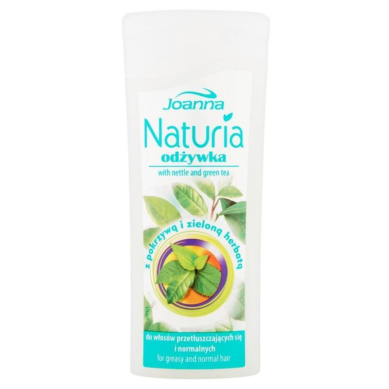 Naturia odżywka do włosów normalnych i przetłuszczających się  Pokrzywa i Zielona Herbata 100g