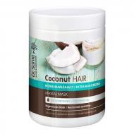 Coconut Hair Mask maska eksra nawilżająca z olejem kokosowym dla suchych i łamliwych włosów 1000ml