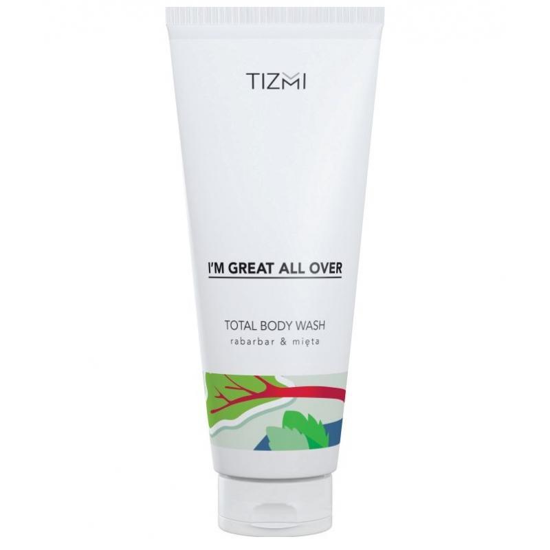 Total Body Wash żel pod prysznic Rabarbar & Mięta 200ml