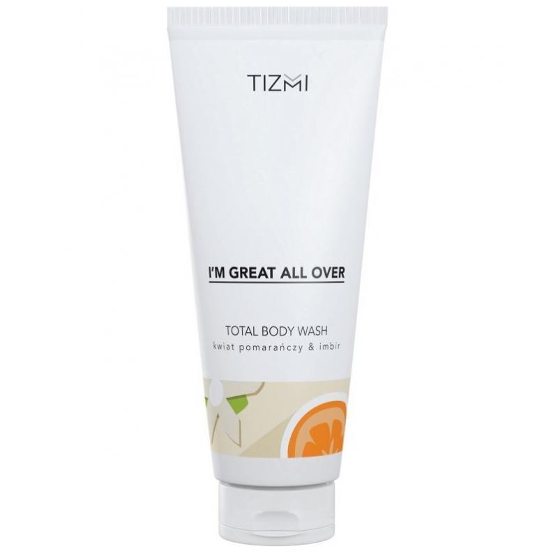 Total Body Wash żel pod prysznic Kwiat Pomarańczy & Imbir 200ml