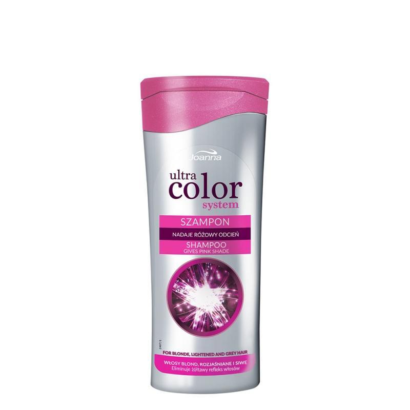 Ultra Color System szampon nadający różowy odcień do włosów blond i rozjaśnianych 200ml