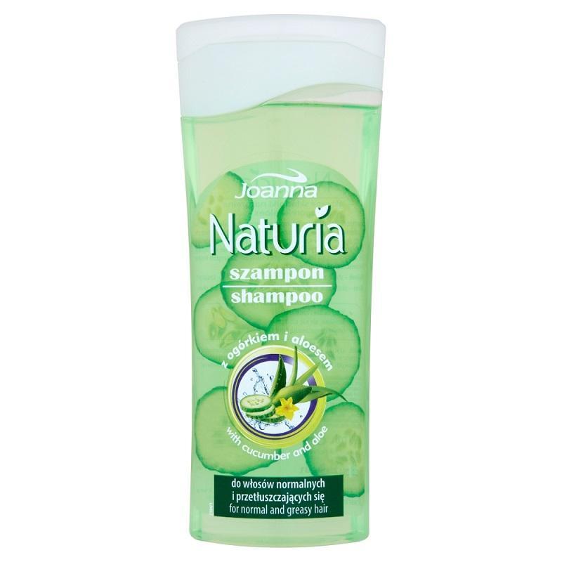 Naturia szampon do włosów normalnych i przetłuszczających się Ogórek i Aloes 200ml