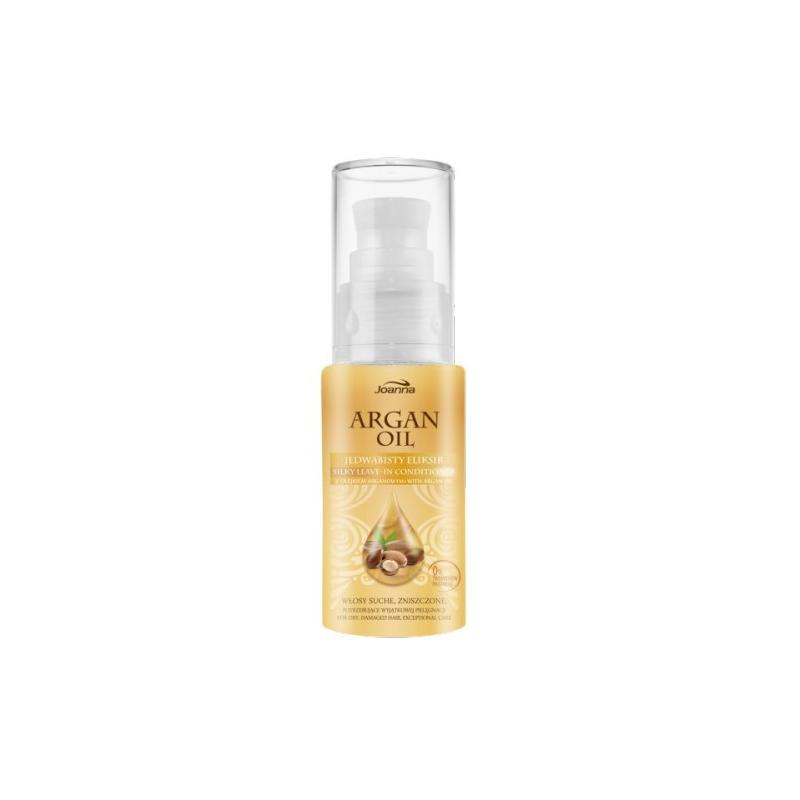 Argan Oil Regenerating Silky Leave-In Conditioner regenerujący eliksir do włosów suchych i zniszczonych 30ml