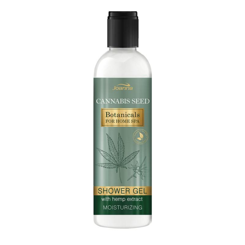 Botanicals For Home Spa kremowy żel pod prysznic z ekstraktem z konopi 240ml