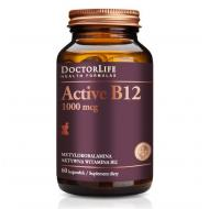 Active B12 aktywna witamina B12 1000mcg metylokobalamina aktywna witamina B12 suplement diety 60 kapsułek