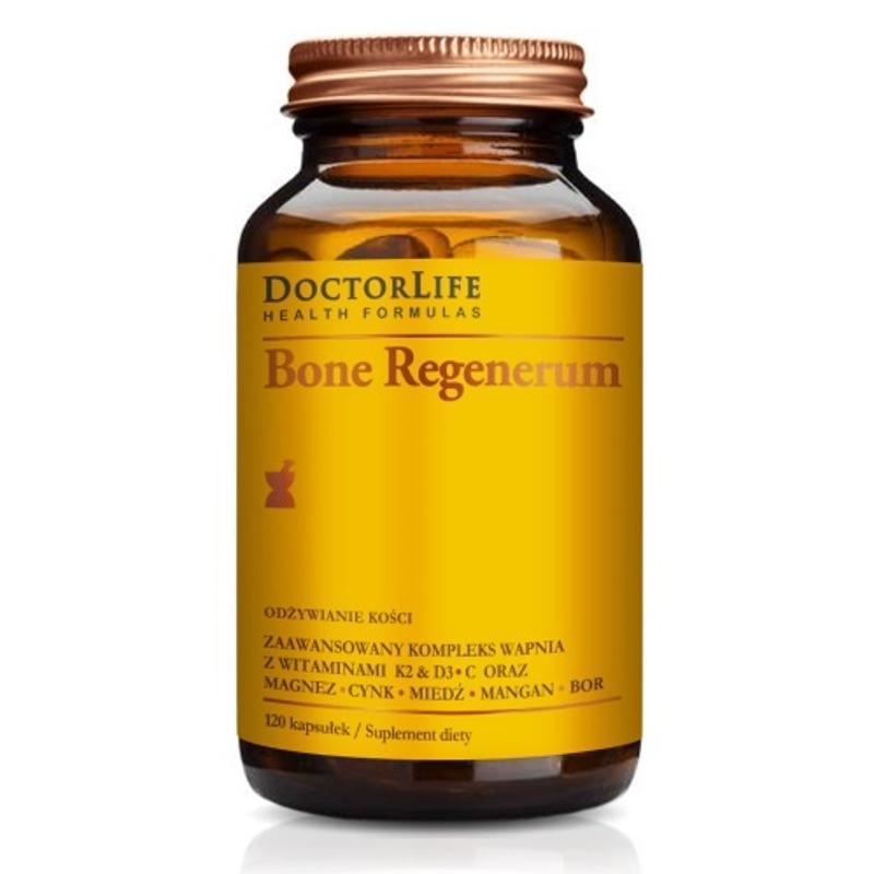 Bone Regenerum zaawansowany kompleks wapnia suplement diety 120 kapsułek