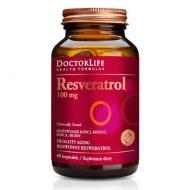 Resveratrol Healthy Aging bezwonny trans-rezweratrol 100mg suplement diety 60 kapsułek
