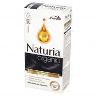 Naturia Organic pielęgnująca farba do włosów bez amoniaku i PPD 350 Hebanowy