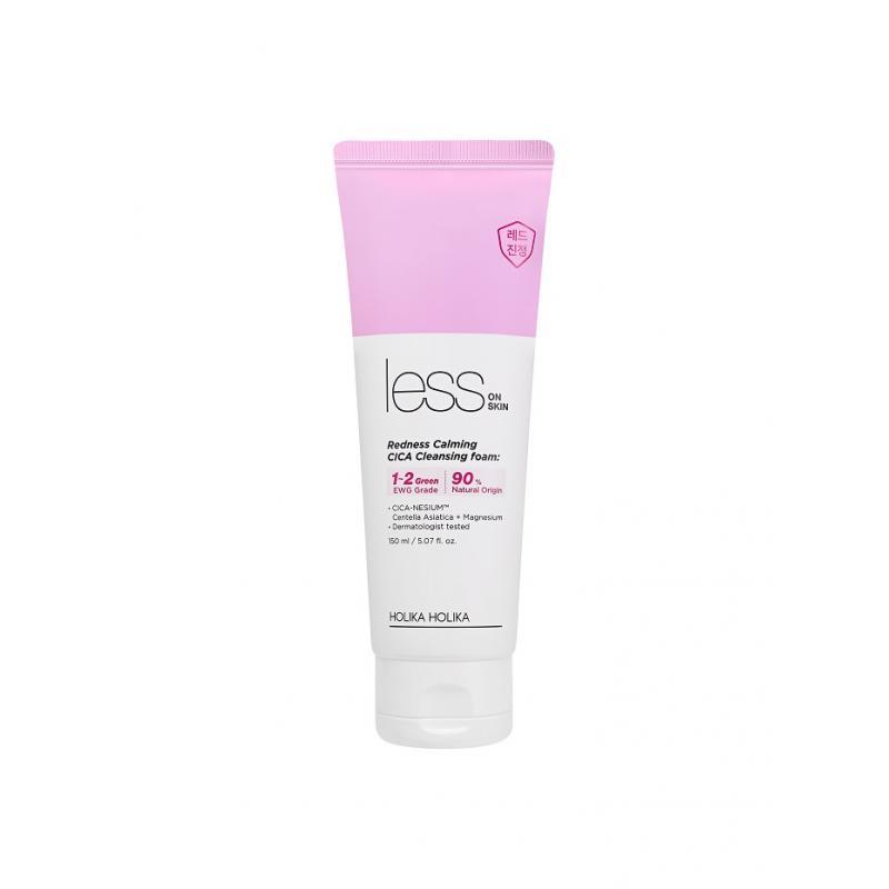 Less On Skin Redness Calming CICA Cleansing Foam pianka myjąca do podrażnionej i zaczerwienionej skóry 150ml