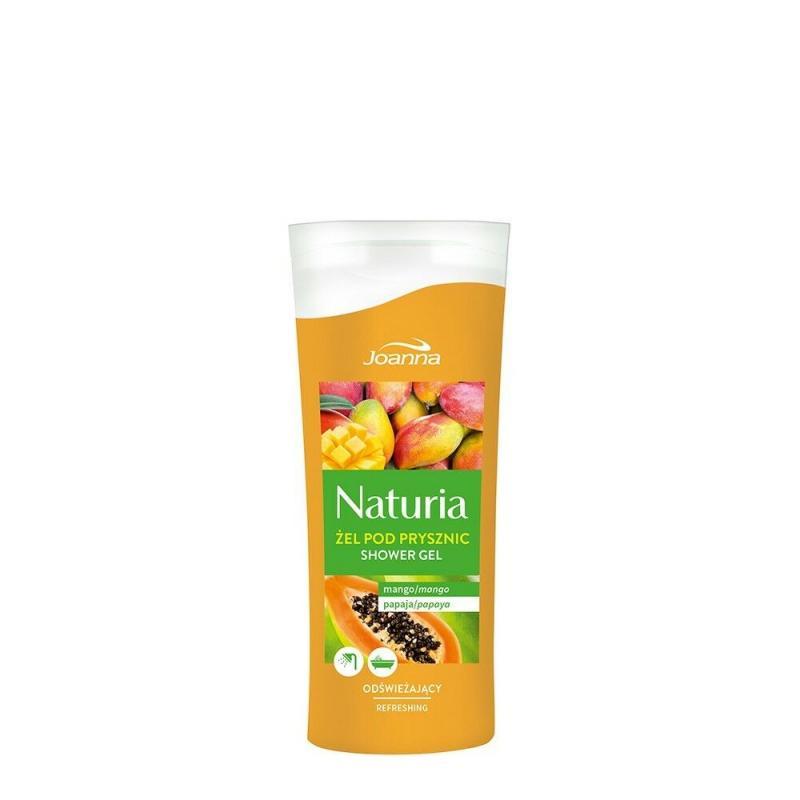 Naturia odświeżający żel pod prysznic Mango i Papaja 100ml