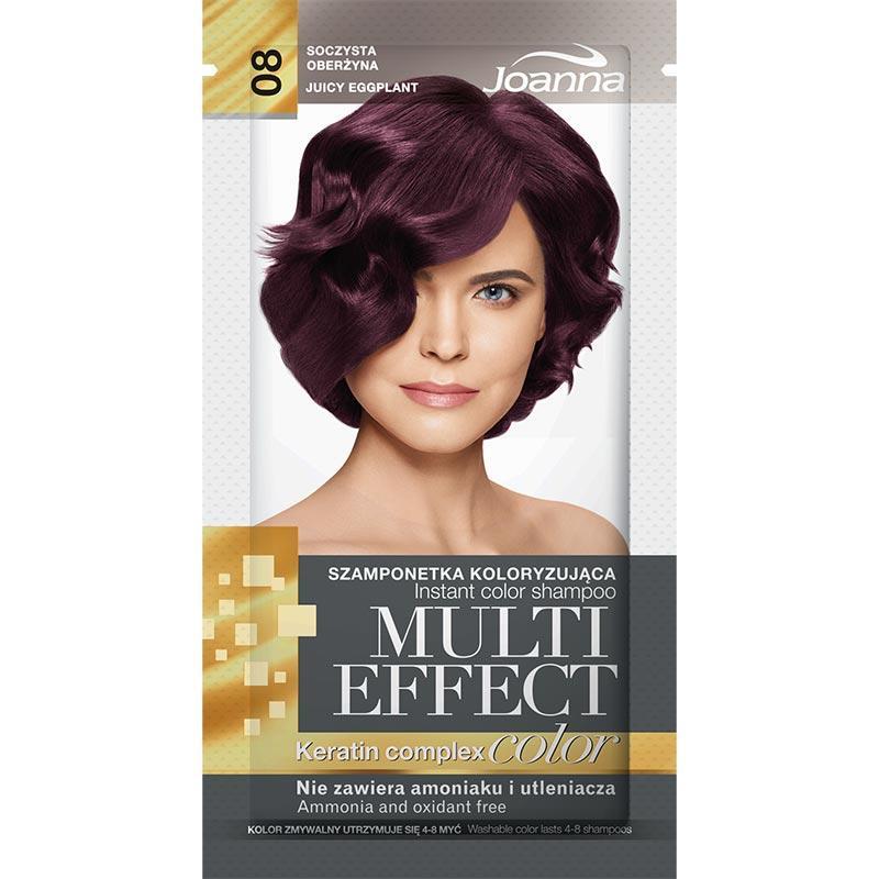 Multi Effect szamponetka koloryzująca 08 Soczysta Oberżyna 35g