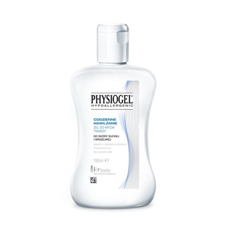 Codzienne Nawilżenie żel do mycia twarzy do skóry suchej i wrażliwej 150ml