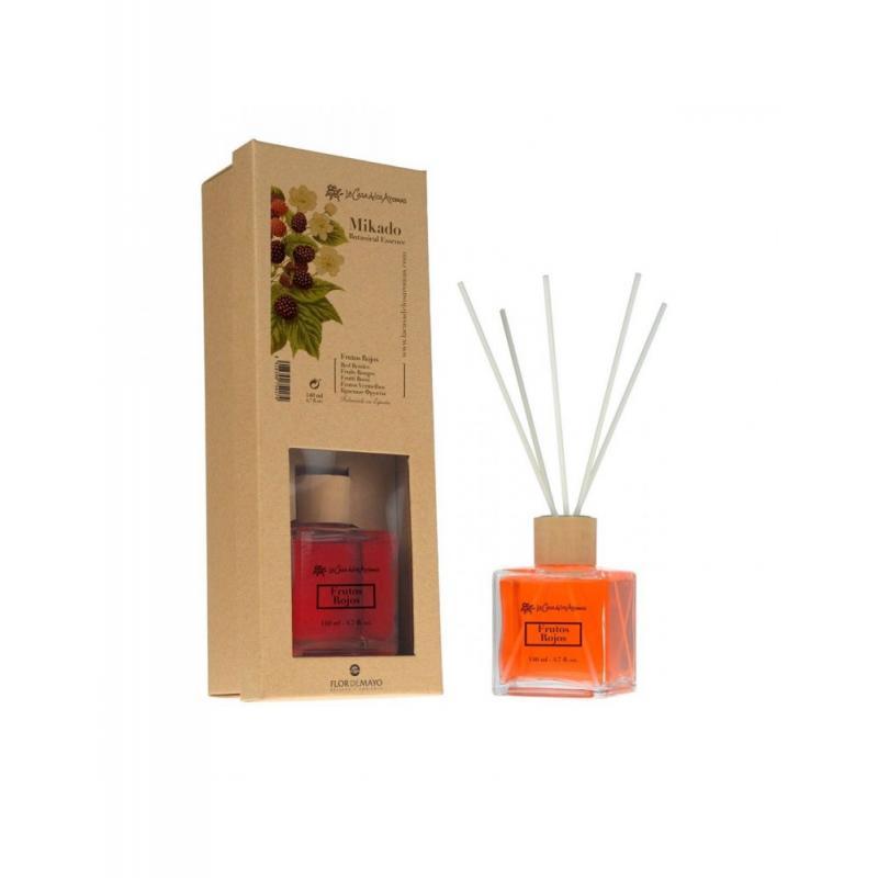 Botanical Essence olejek aromatyczny z patyczkami Czerwone Owoce 140ml