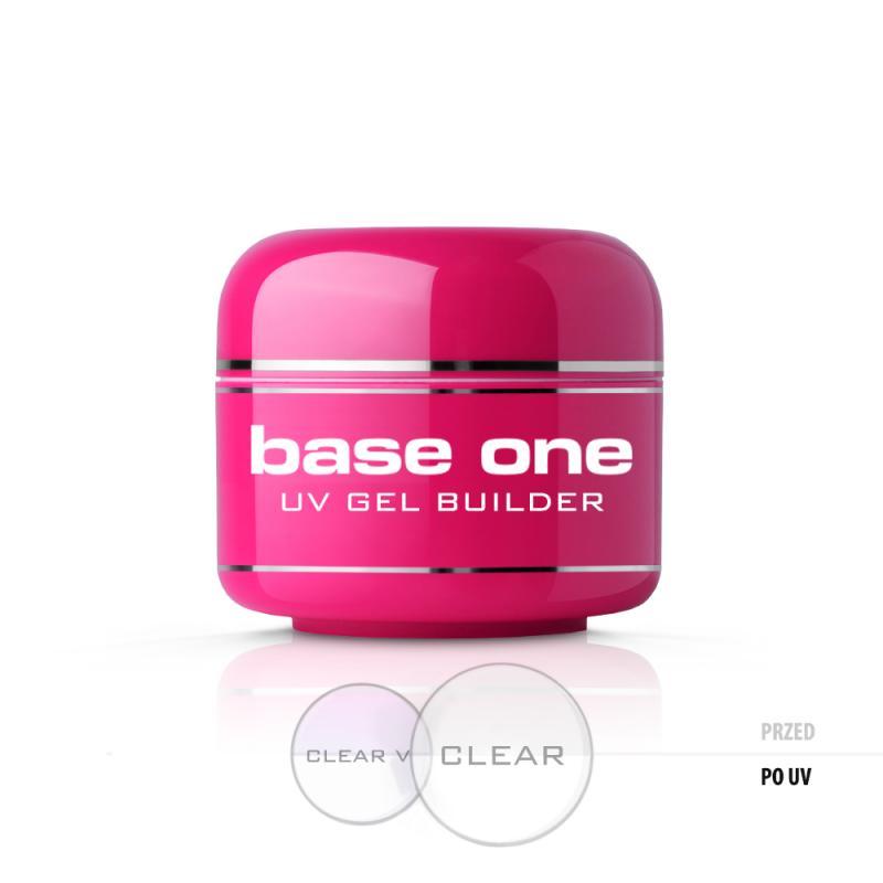 Base One Clear bezbarwny żel budujący do paznokci 5g