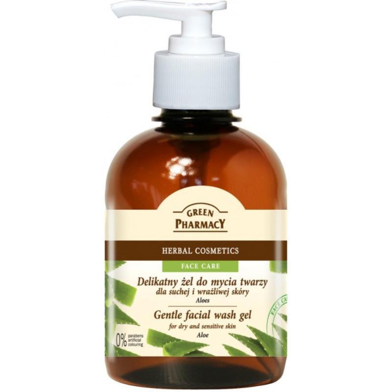 Gentle Facial Wash Gel żel do mycia twarzy dla suchej i wrażliwej skóry Aloes 270ml