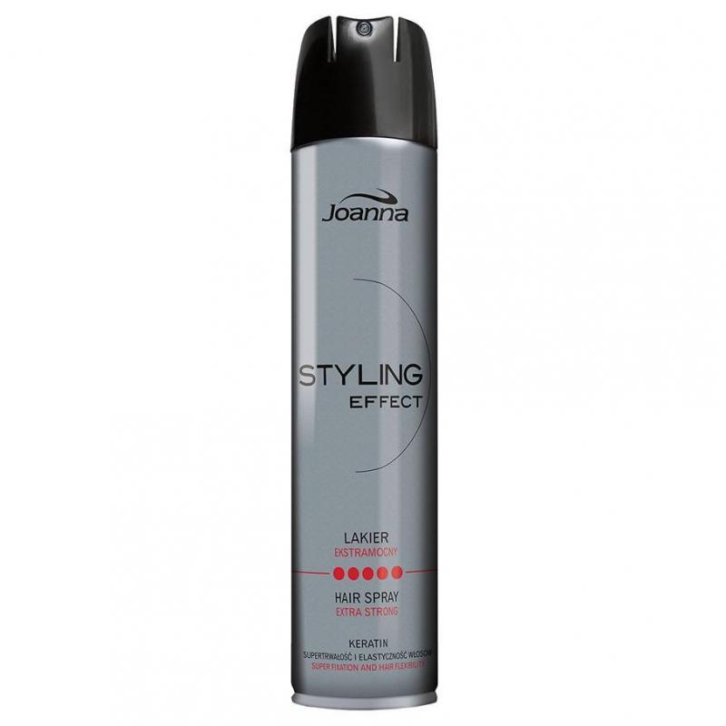 Styling Effect lakier utrwalający do włosów Ekstramocny 250ml