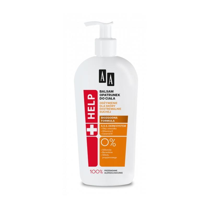 Help balsam opatrunek do ciała dla ekstremalnie suchej skóry 400ml