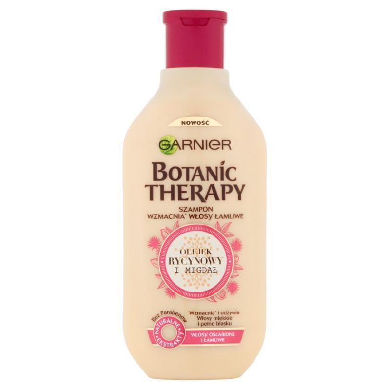 Botanic Therapy szampon wzmacnia włosy łamliwe Olejek Rycynowy i Migdał 250ml