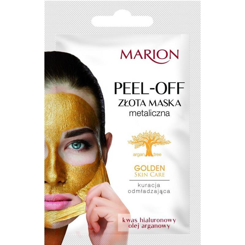 Golden Skin Care Peel-Off Mask złota maska metaliczna 6g