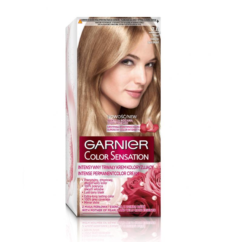 Color Sensation krem koloryzujący do włosów 7.0 Delikatnie Opalizujący Blond