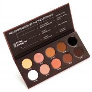 Pure Passion Pressed Eyeshadow Palette paleta cieni prasowanych 10x2.5g