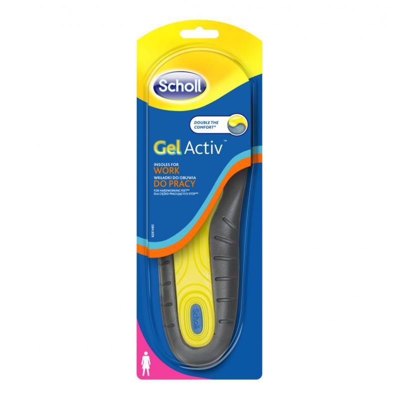 Scholl wkładki żelowe do butów GelActiv rozmiar 35.5 - 40.5