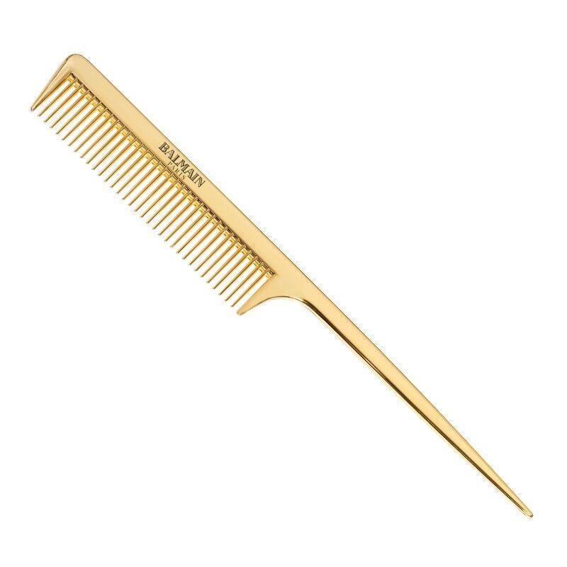 Golden Tail Comb profesjonalny złoty grzebień do strzyżenia ze szpikulcem