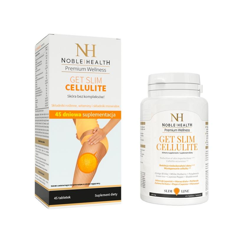 Premium Wellness Get Slim Cellulite tabletki redukujące cellulit 45szt