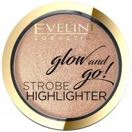 Glow & Go Strobe Highlighter rozświetlacz do twarzy 02 Gentle Gold 8.5g