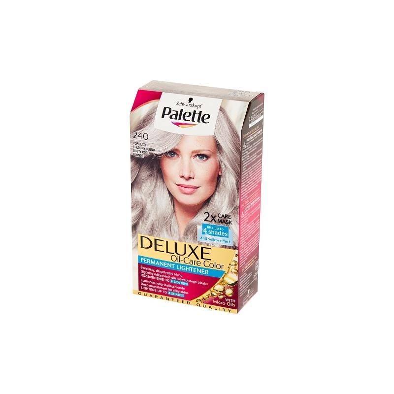 Deluxe Oil-Care Color farba do włosów trwale koloryzująca z mikroolejkami 240 Chłodny Blond