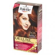 Deluxe Oil-Care Color farba do włosów trwale koloryzująca z mikroolejkami 667 Miedziany Mahoń