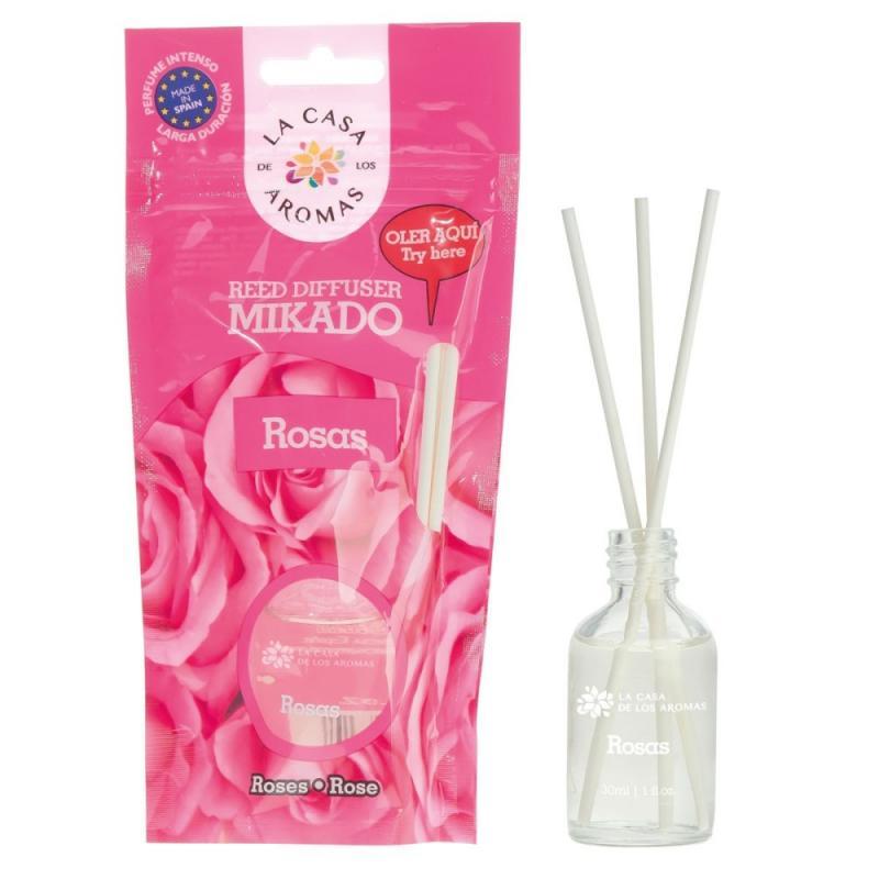 Olejek aromatyczny z patyczkami Róża 30ml