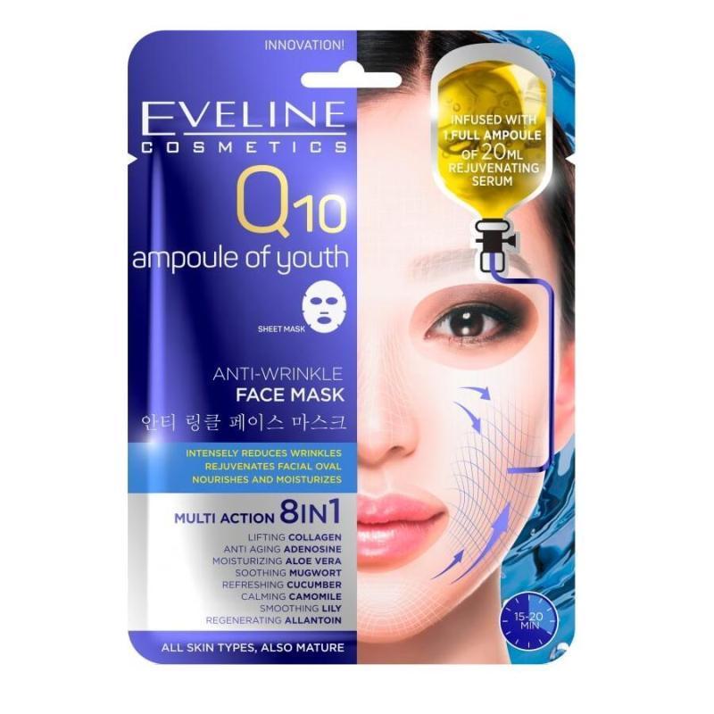 Q10 Ampoule Of Youth 8w1 przeciwzmarszczkowa maska w płachcie 20ml