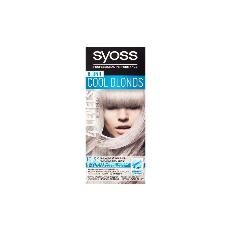 Cool Blonds rozjaśniacz do włosów 10-55 Ultra Platynowy Blond