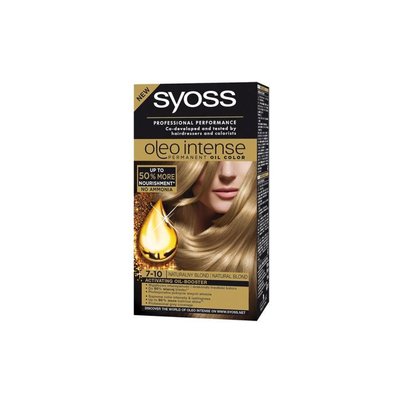 Oleo Intense farba do włosów trwale koloryzująca z olejkami 7-10 Naturalny Blond