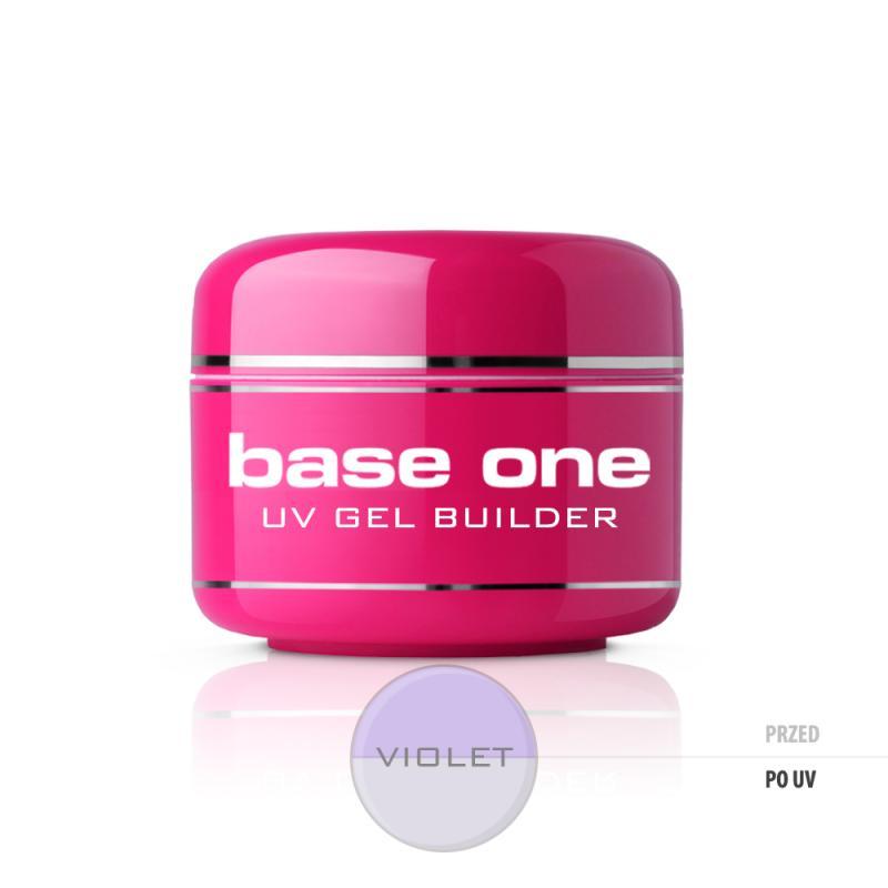 Gel Base One Violet żel budujący do paznokci 15g