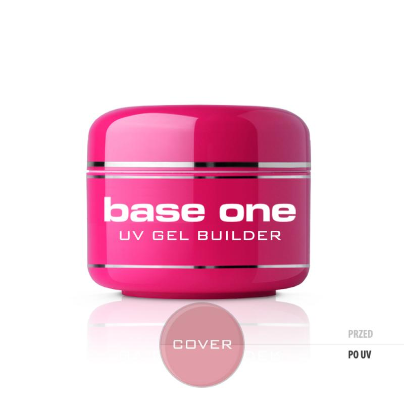 Gel Base One Cover maskujący żel UV do paznokci 15g
