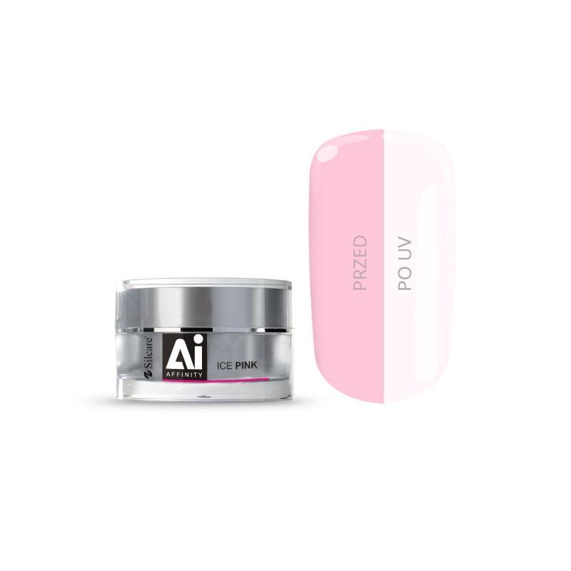 Gel Affinity średniogęsty jednofazowy żel do paznokci Ice Pink 30g