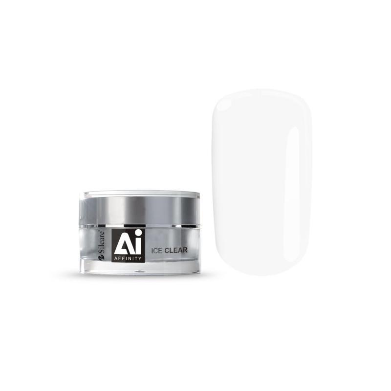 Gel Affinity średniogęsty jednofazowy żel do paznokci Ice Clear 15g